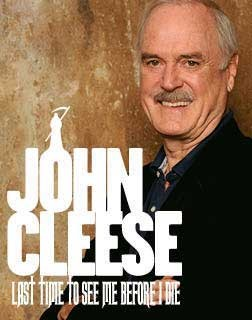 JOHN CLEESE 'LAST TIME TO SEE ME BEFORE I DIE'
